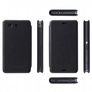 天然牛革手帳型ケース MASK Xperia Z3 Compact ブラック_1