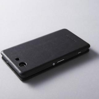 天然牛革手帳型ケース MASK Xperia Z3 Compact ブラック_3