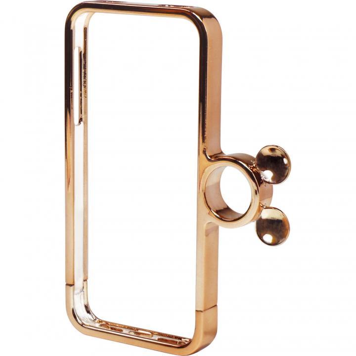 iPhone SE/5s/5 指輪の付いたケース ジュエルフォン ディズニー ミッキー&ミニーピンクゴールド iPhone SE/5s/5ケース_0