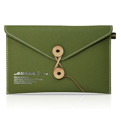 Non-Tear Envelope7 Tablet Olive Green