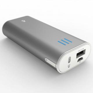 [6000mAh] Power Plus 2 mini モバイルバッテリー シルバー