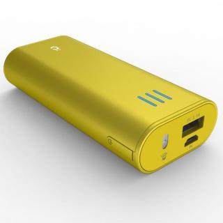 [6000mAh] Power Plus 2 mini モバイルバッテリー イエロー