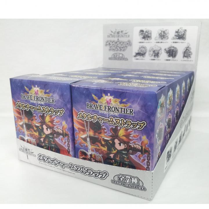 ブレイブフロンティア メタルチャームストラップ 12個BOX_0