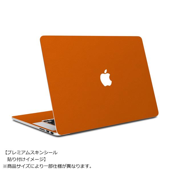 MacBook Air 11インチ専用レザー調プレミアムスキンシール【オレンジレザー】_0
