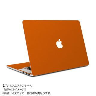 【9月下旬】MacBook Air 11インチ専用レザー調プレミアムスキンシール【オレンジレザー】