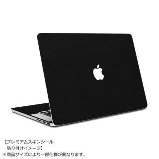 MacBook Air 11インチ専用レザー調プレミアムスキンシール【ブラックレザー】