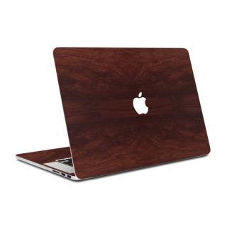 MacBook Air 13インチ専用ウッド調プレミアムスキンシール【マホガニー】