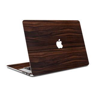 MacBook Air 13インチ専用ウッド調プレミアムスキンシール【エボニー】