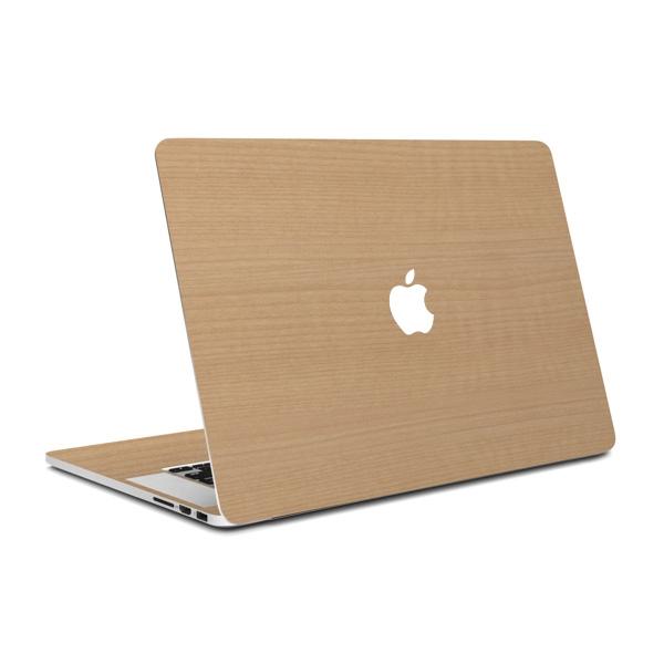 MacBook Air 13インチ専用ウッド調プレミアムスキンシール【メープル】