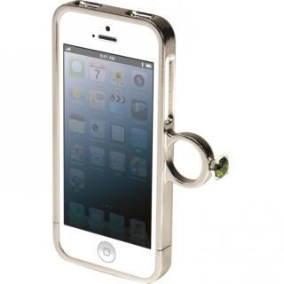 【9月上旬】[AppBank先行]指輪の付いたケース ジュエルフォン ディズニー アリエル iPhone 5s/5ケース