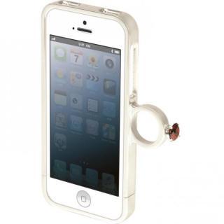指輪の付いたケース ジュエルフォン ディズニー 白雪姫 iPhone SE/5s/5ケース