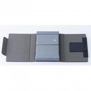 三つ折 Bluetoothコンパクトキーボード 専用ケース付属_2