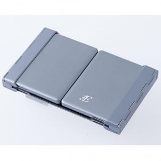 三つ折 Bluetoothコンパクトキーボード 専用ケース付属_3