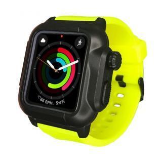 防水防塵ケース Apple Watch 4/5/6/SE 44mm イエロー