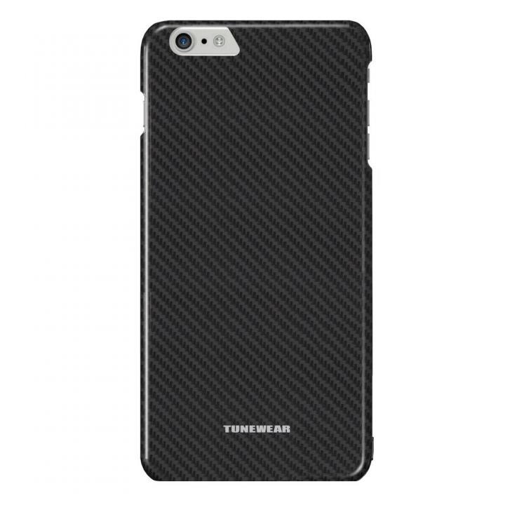 【iPhone6 Plusケース】カーボン調プラスチックケース CarbonLook ブラック iPhone 6 Plus_0