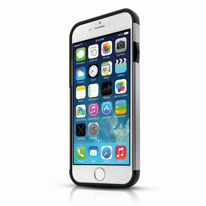 【iPhone6ケース】ITSKINS ハードケース Evolution ダークシルバー iPhone 6s/6_0