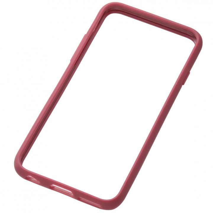 iPhone6s/6 ケース クリスタルアーマー TPU バンパー  iPhone 6s/6 小豆色_0