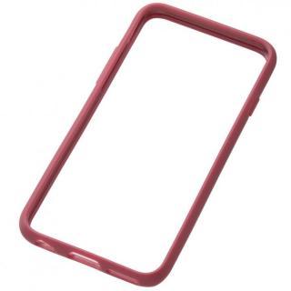クリスタルアーマー TPU バンパー  iPhone 6s/6 小豆色