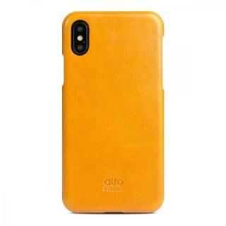 iPhone XS/X ケース alto ORIGINAL キャラメル iPhone XS/X