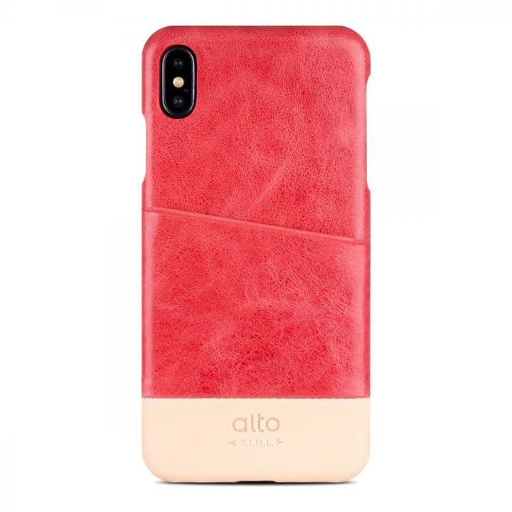 iPhone XS/X ケース alto METRO コーラル/オリジナル iPhone XS/X_0