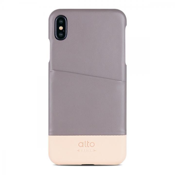 iPhone XS/X ケース alto METRO セメント/オリジナル iPhone XS/X_0