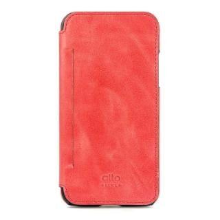 iPhone XS/X ケース alto FOGLIA 手帳型ケース コーラル iPhone XS/X【9月上旬】