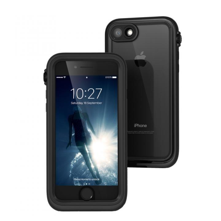 【iPhone7ケース】Catalyst(カタリスト) 完全防水ケース CT-WPIP164  ブラック iPhone 7_0