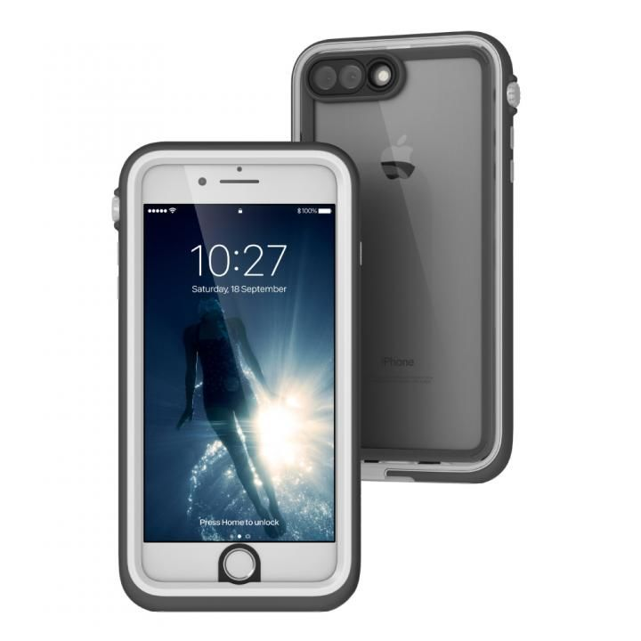 【iPhone7 Plusケース】Catalyst(カタリスト) 完全防水ケース CT-WPIP165  ホワイト iPhone 7 Plus_0