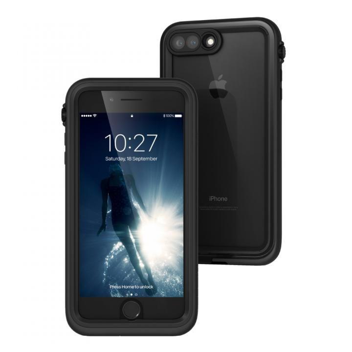 【iPhone7 Plusケース】Catalyst(カタリスト) 完全防水ケース CT-WPIP165  ブラック iPhone 7 Plus_0
