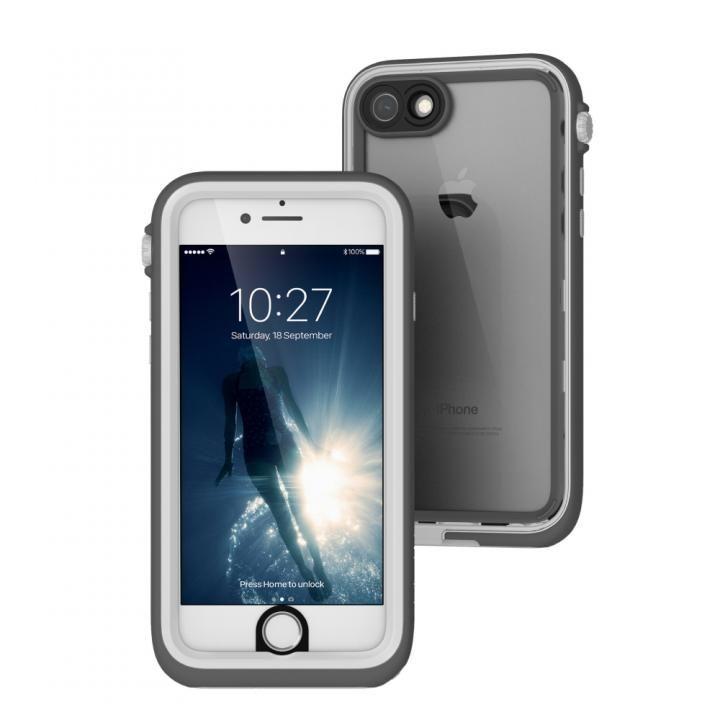 【iPhone7ケース】Catalyst(カタリスト) 完全防水ケース CT-WPIP164  ホワイト iPhone 7_0