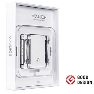 MIXJUICE 1台3役 ニッケル水素電池が使えるモバイルバッテリー【9月上旬】
