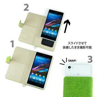 【iPhone6s Plus/6 Plusケース】Shibaful -Yoyogi Park- 多機種対応手帳型ケース Lサイズ_3