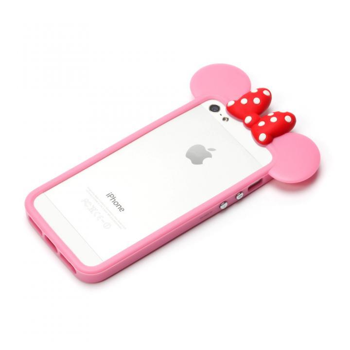 iPhone SE/5s/5 ディズニー TPUバンパー ミニー iPhone SE/5s/5バンパー_0