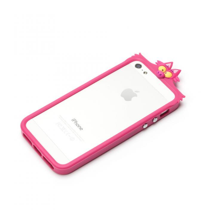 iPhone SE/5s/5 ディズニー TPUバンパー チシャネコ iPhone SE/5s/5バンパー_0