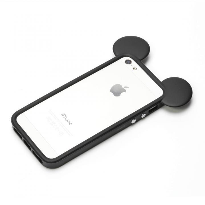 iPhone SE/5s/5 ディズニー TPUバンパー ミッキー iPhone SE/5s/5バンパー_0