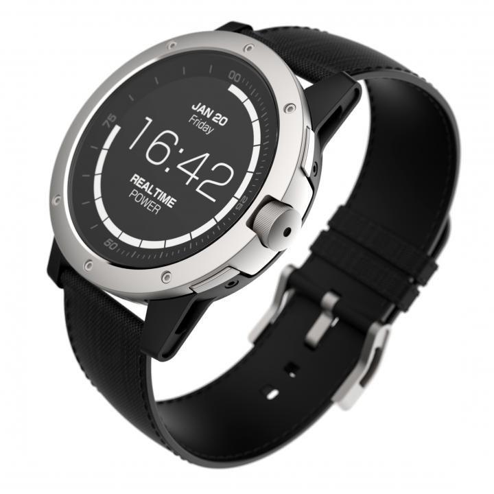 Matrix スマートウォッチ Power Watch Silver【5月中旬】_0