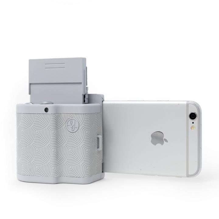 PRYNT POCKET iPhone用ポケットサイズプリンター グレイ_0