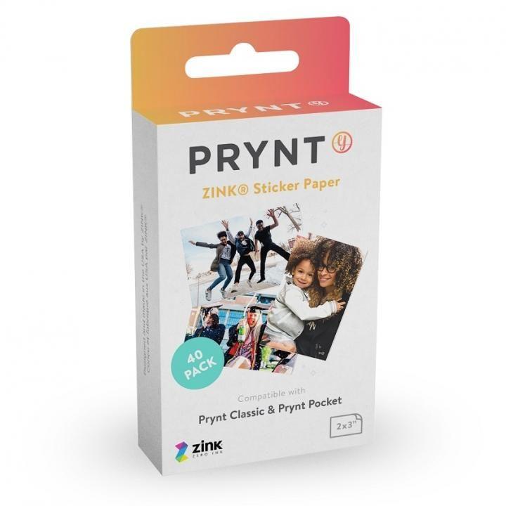 PRYNT POCKET用プリント用紙40枚_0