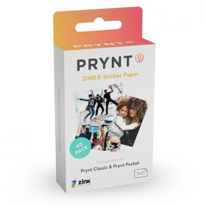 PRYNT POCKET用プリント用紙40枚