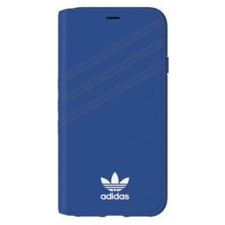 adidas Originals 手帳型ケース Collegiate ロイヤル/ホワイト iPhone XS/X