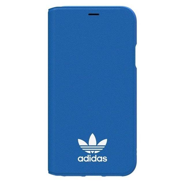 iPhone XS/X ケース adidas Originals TPU手帳型ケース ブルーバード/ホワイト iPhone XS/X_0