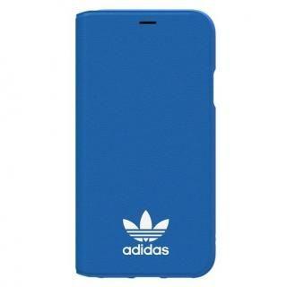 adidas Originals TPU手帳型ケース ブルーバード/ホワイト iPhone XS/X