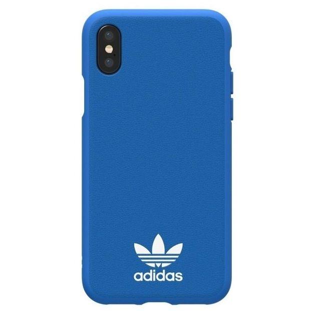 iPhone XS/X ケース adidas Originals TPUケース ブルーバード/ホワイト iPhone XS/X_0