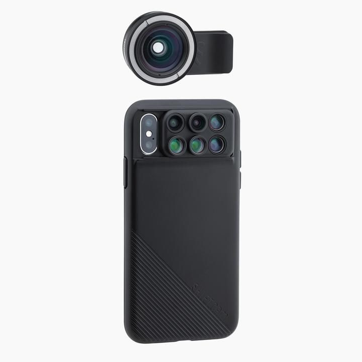 ShiftCam 2.0 Pro Lens package Wide Angle スライド式拡張レンズケース iPhone X_0