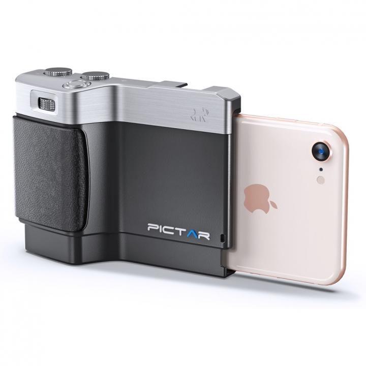 iPhone用カメラグリップ Pictar One Mark II J Black iPhone 8/7/SE/6s/6/5s/5/4s_0