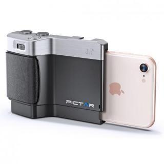 iPhone用カメラグリップ Pictar One Mark II J Black iPhone 8/7/SE/6s/6/5s/5/4s