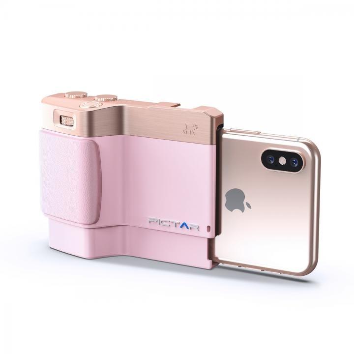 iPhone用カメラグリップ Pictar OnePlus Mark II J Pink iPhone XS/XS Max/XR/X/8 Plus/7 Plus/6s Plus_0