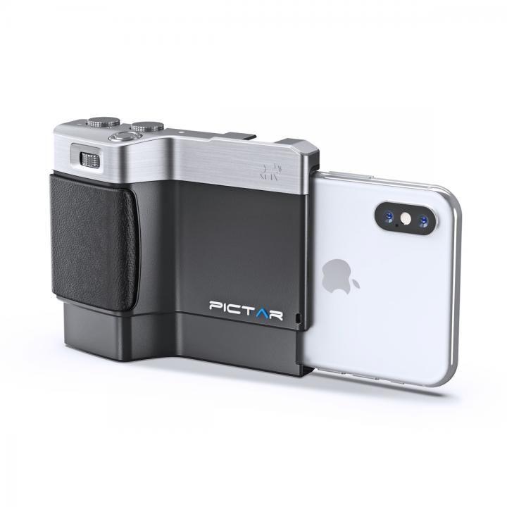 iPhone用カメラグリップ Pictar OnePlus Mark II Black iPhone XS/XS Max/X/8 Plus/7 Plus/ 6s Plus/6 Plus_0