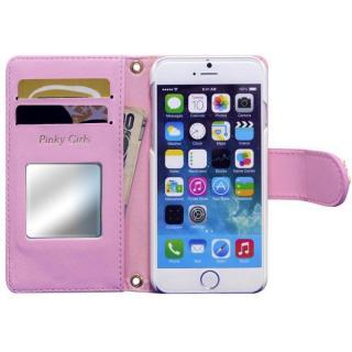 【iPhone6s/6ケース】Pinky Girls 手帳型ケース ビジュー/ピンク iPhone 6s/6_2