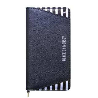 BLACK BY MOUSSY 手帳型ケース ストライプ/ブラック iPhone 6s/6